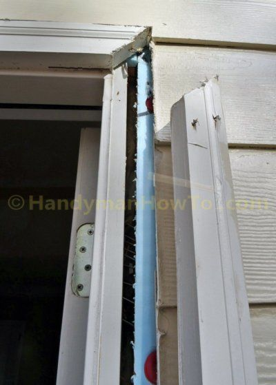 Remove Exterior Door Brick Mould Exterior Door Frame Door Frame