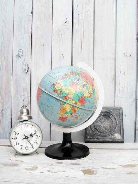 Vintage Globus Von Gerne Wieder Auf Dawanda Com Mit Bildern