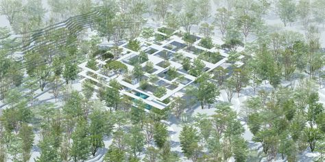 Forest House by Sou Fujimoto Architects