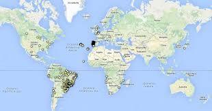 Mapa Mundo Acores Portugal Pesquisa Google Com Imagens