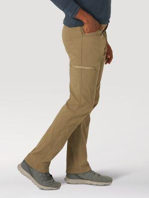 Men S Wrangler Flex Waist Outdoor Cargo Pant In Fallen Rock In 2021 Cargo Pant Pants Wrangler