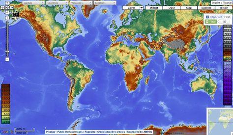 Maps For Free Jedinecna Mapa Sveta S Vrstvami Ktore V Google
