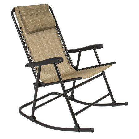 Free Shipping Buy Best Choice Products Foldable Zero Gravity Rocking Patio Recliner Chair At Walmart C Folding Rocking Chair Patio Rocking Chairs Patio Chairs
