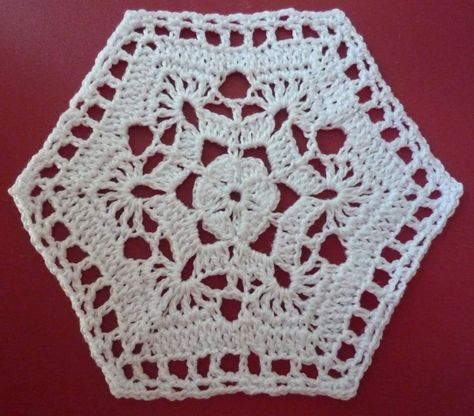 Zeshoek Granny Square Haken Pinterest вязание вязание крючком