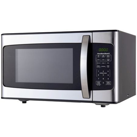Home Stainless Steel Microwave Stainless Steel Oven Hamilton Beach