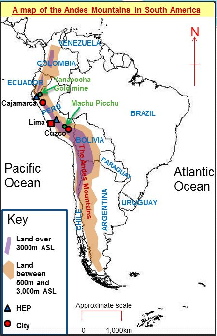 List of Pinterest andes mountains map pictures & Pinterest andes ...