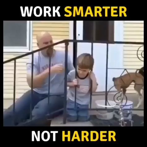 Work smarter vs work harder🤔 Share it with your friends with a message of working smarter😎