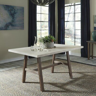 Adams Dining Table Trestle Dining Tables Dining Table Round