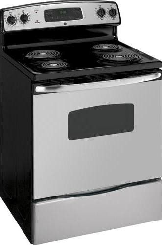 Ge Gidds 290245 30 5 3 Cu Ft Free Standing Electric Range Stainless Electric Range Freestanding Electric Ranges Oven Cleaning