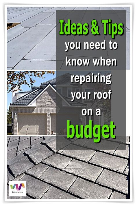 Become Your Own Contractor With One Of These Advice On Your Home S Roof Roof Cost Roof Shingles Roofing