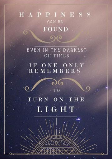 Harry Potter Quote Poster Print Happiness Found Turn On The Light Potter Quote Home Decor Harry Potter Iphone Wallpaper Harry Potter Iphone Harry Potter Quotes Wallpaper