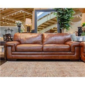 Chestnut Leather Sofa Leather Sofa Fusion Furniture