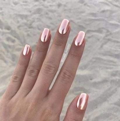 28 Ideas Nails 2018 March Nails With Images Chrome Nail Art