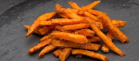 Photo of süsskartoffel pommes knusprig