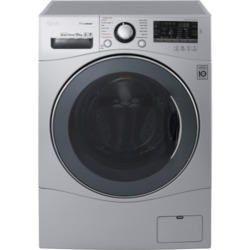 LG FH4A8JDS4 10kg 1400rpm Freestanding Washing Machine Silver