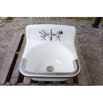 Mcgrane 24 X 20 Wall Mount Laundry Sink With Faucet With Images