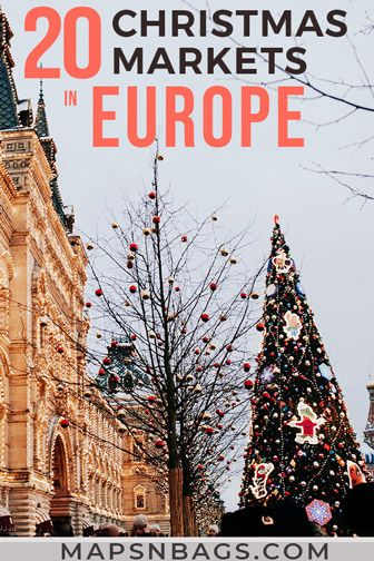 Vacation Europe After Christmas 2020 Christmas in Europe: 20 Best Christmas Markets to Visit in 2020