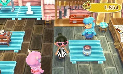 Aroma Potpot Color Blue Animal Crossing New Leaf Animal Crossing Color