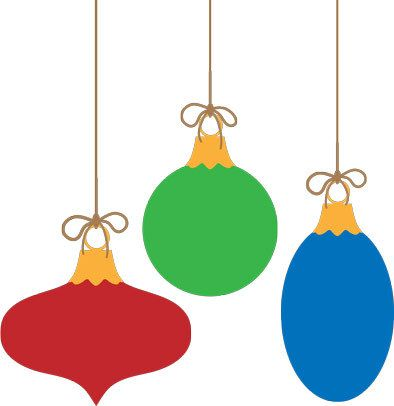 Free Vector Christmas Ornaments On Behance Christmas Ornaments Christmas Vectors
