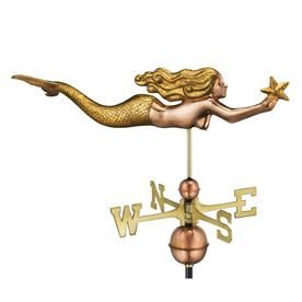 Good Directions Copper Roof Mount Nautical Weathervane Lowes Com In 2020 Copper Roof Good Directions Weathervanes