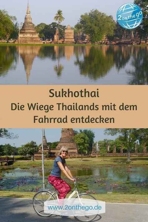Sukhothai: Die Wiege Thailands per Fahrrad entdecken