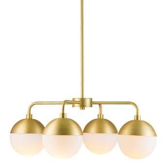 Yearby 3 Light Globe Chandelier Reviews Allmodern Chandelier Shades Modern Chandelier Traditional Chandelier
