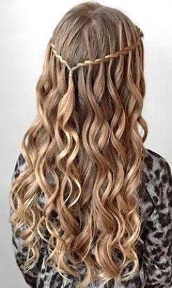 98 Wedding Hairstyle Idea Image Dance Hairstyles Long Wavy Hair
