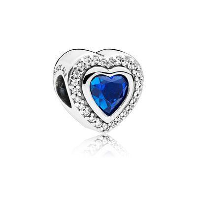 48ab6d37e4 Charm Amour Scintillant en Argent | bijoux | Pinterest | Cristalli ...