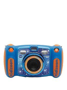 Vtech Kidizoom Duo 5 0 Blue In 2020 Camera Fun Learning Games Digital Camera