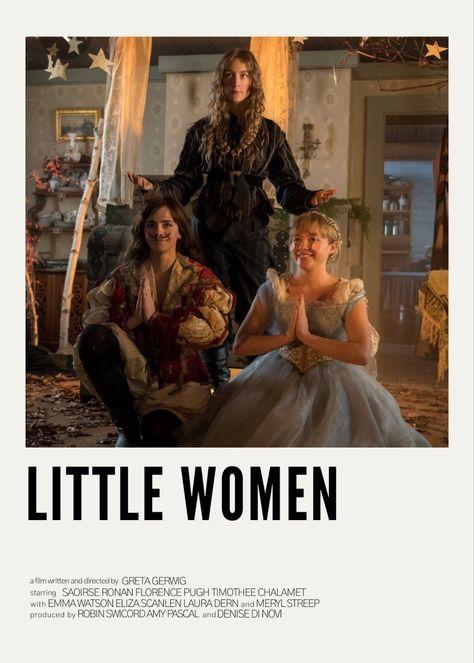 Little Women Polaroid Poster