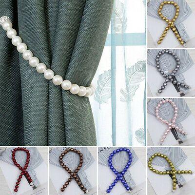Sponsored Link Magnetic Curtain Tieback Pearl Tie Backs Buckle