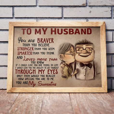 Do You Have An Amazing Husband ?  Of Course You Do !   This poster is the perfect gift for your other half !    Made in the USA 🇺🇸.