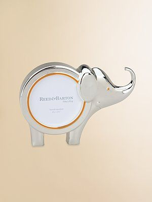 Reed & Barton Elephant Picture Frame From the