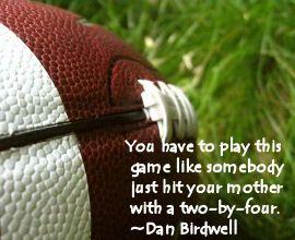 football sayings