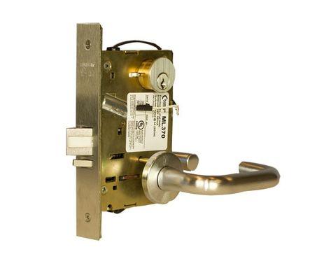 Sargent Ml370 Electrified Mortise Lock Storeroom 626 Satin Chrome Mortise Lock Commercial Door Hardware Chrome
