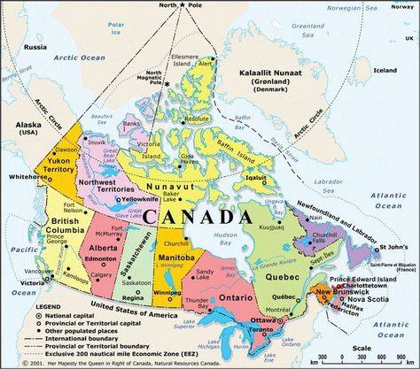 Mapa Do Canadagif Gif 1024 902 Mapadocanadagifgif In 2020