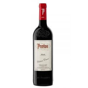 Protos Roble 2018 Botellas De Vino Vino Tinto Vino De España