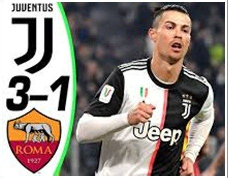 Juventus Vs As Roma 3 1 Highlights Download Video In 2020 Football Highlight Juventus As Roma