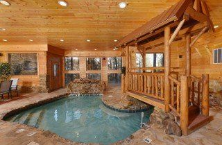 Pigeon Forge Cabin Copper River Pool 31 Jpg Tennessee Cabins Pigeon Forge Cabins Indoor Pool