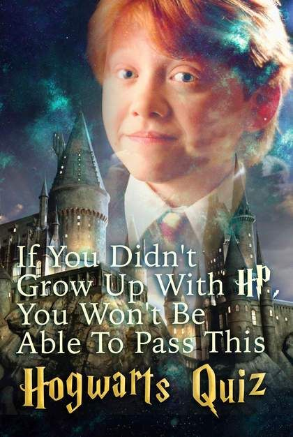 If You Didn T Grow Up With Hp You Won T Be Able To Pass This
