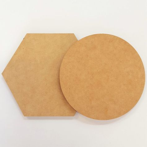 Cross Rounded Set of 2 or 4 MDF Shape DIY Raw Cut Out Art Craft Decor 3mm