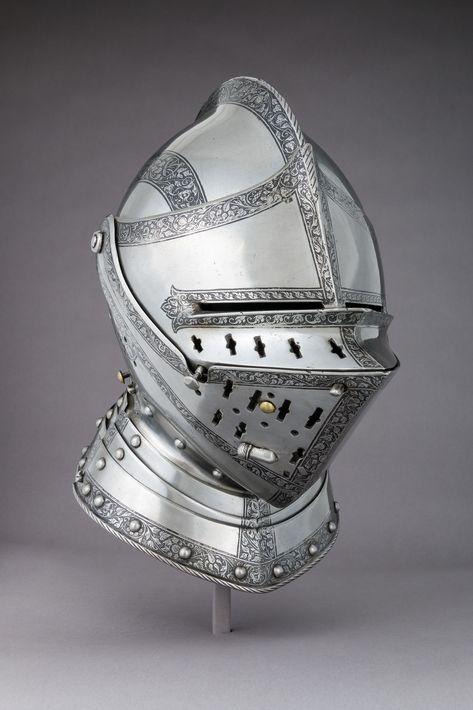 Attributed to Wolfgang Grosschedel | Close Helmet | German, Landshut | The Met