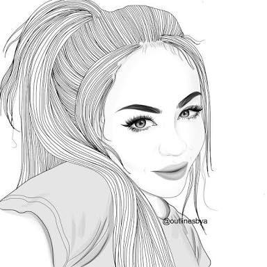 Resultado De Imagem Para Desenhos De Meninas Tumblr Facil Para