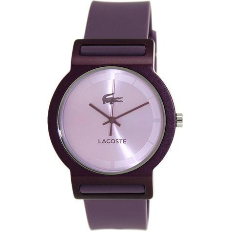 d96056c414 Por estar de lanzamiento, tenemos este hermoso reloj Lacoste para mujer con  el 10% de descuento. ¿Qué estás esperando para tenerlo?