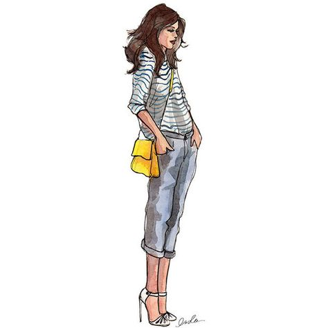 Fashion Illustration Ideas Great styling with these fun illustrations found in