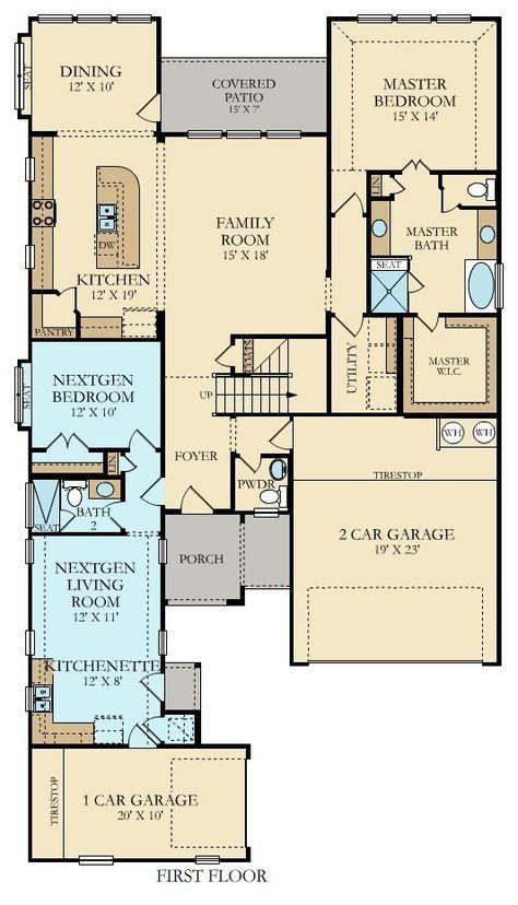 Floor Plan With David Campbell Nextgen New Home Plan In Crescent