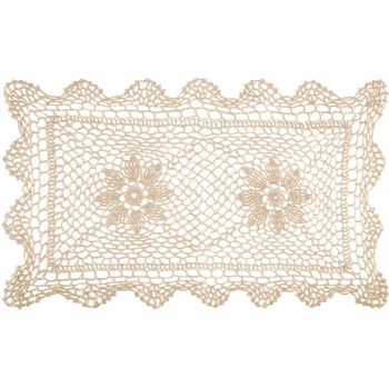 Rectangle Natural Doily In 2020 Doilies Yarn Needle Print Coupons