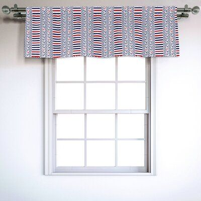 East Urban Home Nautical 54 Window Valance In 2020 With Images