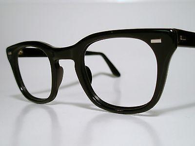true vintage mens sun eyeglasses frame usgi issue bcgs uss black 50 26 lg ebay specs pinterest man shop - Ebay Eyeglasses Frames