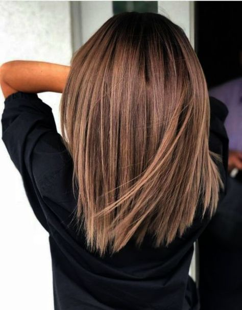 Hair Color Ideas for Short Hair Brunettes – Hair Color Ideas for Short Hair Brunettes – color Informations About Haarfarbe Ideen für kurze Haare Brunettes … Oval Face Hairstyles, Medium Hairstyles, Hairstyles With Bangs, Hairstyles 2018, Hairstyle Ideas, Beautiful Hairstyles, Long Brunette Hairstyles, Party Hairstyles, Easy Hairstyle